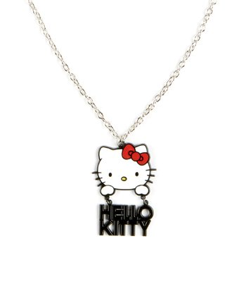 Hello Kitty HK Dangle Necklace