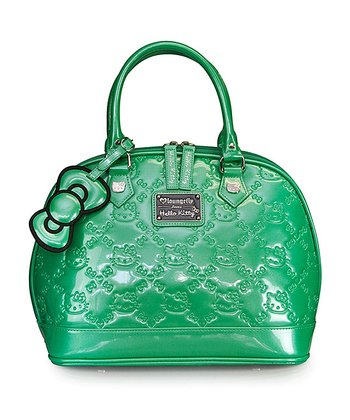 Green Hello Kitty Embossed Tote