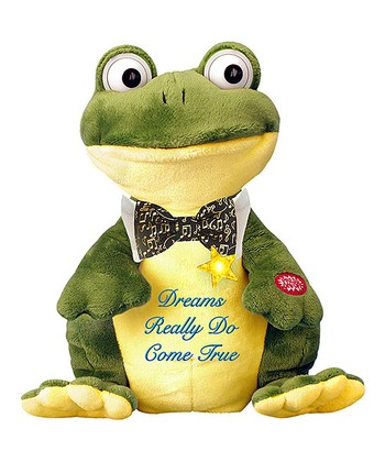 Jeremiah Frog Musical Plush Toy