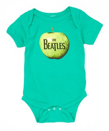 Green 'The Beatles' Apple Bodysuit - Infant