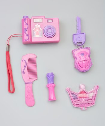 Pink Toy Camera Princess Dress-Up Set