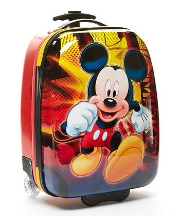 Red Mickey Mouse Pilot Case