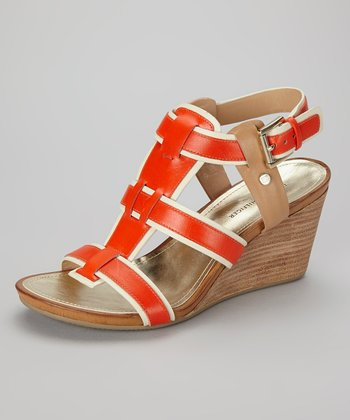 Orange & Cream Icon Sandal
