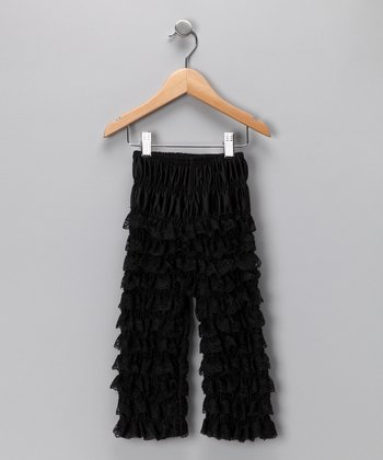 Black Ruffle Pants - Infant & Toddler