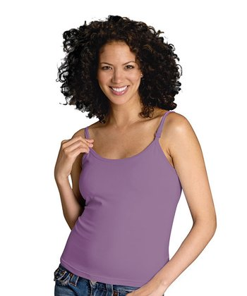 GLAMOURMOM - Soft Purple Nursing Bra Tank