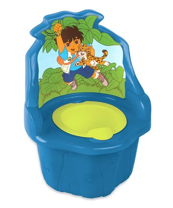 Blue Diego Three-in-One Potty Seat