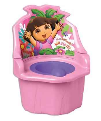 Pink Dora Three-in-One Potty Seat