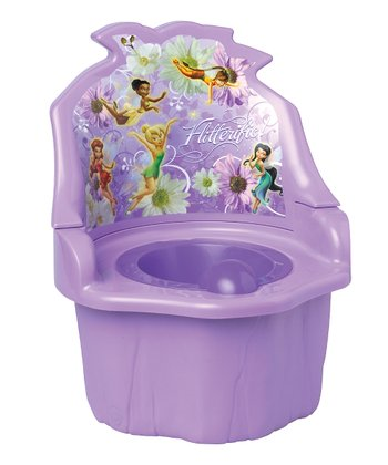 Purple Fairies Three-in-One Potty Seat