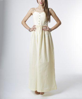 emploi New York Lemon Sullivan Sleeveless Maxi Dress