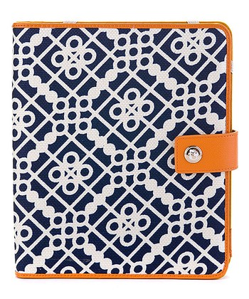 Spartina 449 Orange & Blue Sailor's Watch Case for iPad