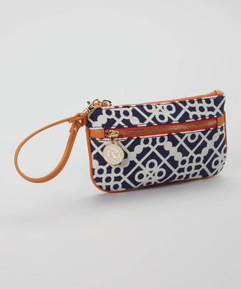 Spartina 449 Blue & White Sailor's Watch Large Wristlet