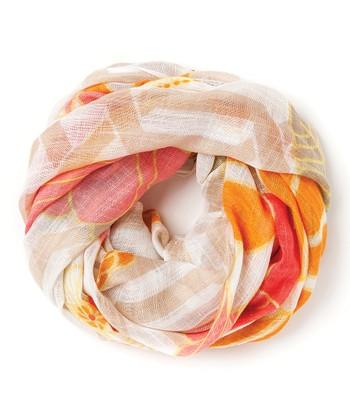 Spartina 449 Orange & Pink Tibi Soli Scarf