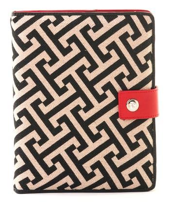 Spartina 449 Black & Cream Callahan Case for iPad