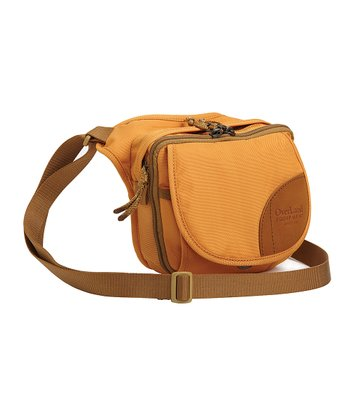 Apricot & Maize Front Organizer Crossbody Bag