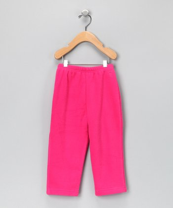 Hot Pink Fleece Pants - Infant & Toddler