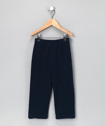 Navy Fleece Pants - Infant & Toddler