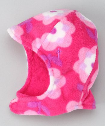 Pink Winter Wear Aviator Hat