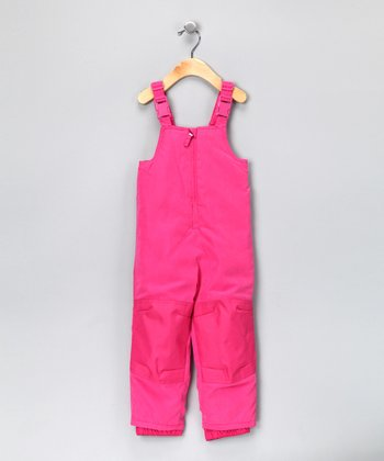 Hot Pink Waterproof Bib Pants - Infant