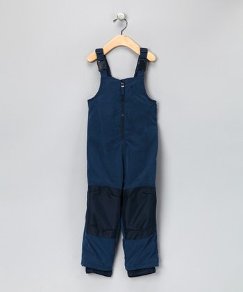 Navy Waterproof Bib Pants - Infant