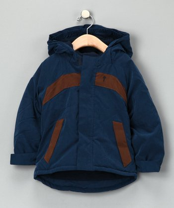Navy Waterproof Jacket - Infant & Toddler