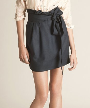 Navy Blue Mounia Organic Skirt