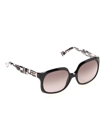 Black Geo Sunglasses