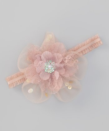 Pale Blush Bella Headband