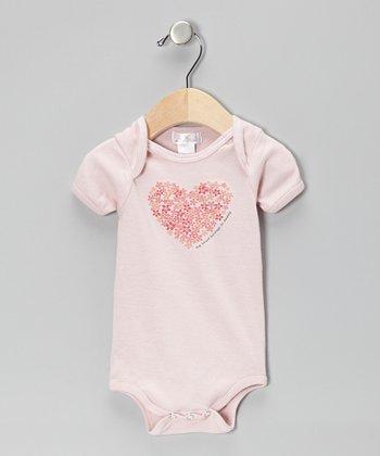 Truffles Ruffles Blush 'My Heart Belongs to Daddy' Bodysuit
