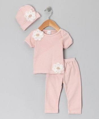 Blush Estelle Tee Set - Infant