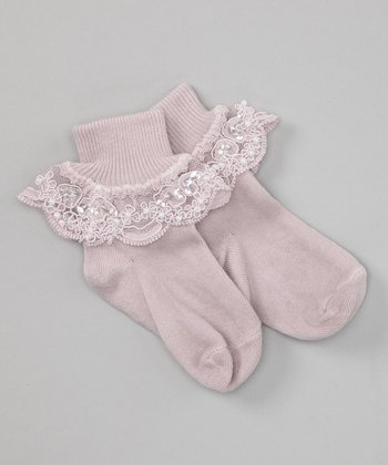 Dusty Plum Bella Socks
