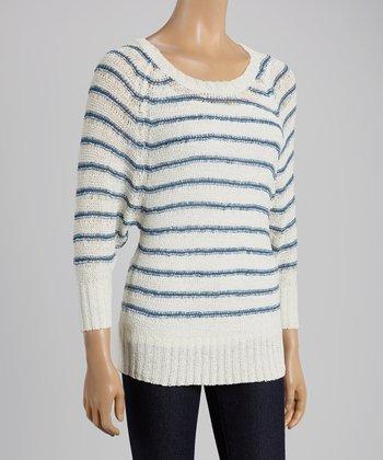 Blue Stripe Sweater
