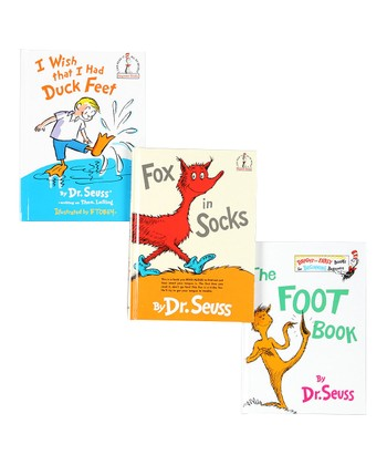 Fox in Socks Book Set