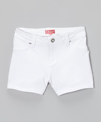 White Sails Shorts - Toddler & Girls