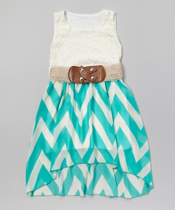 Trendy Girl: Mint & Coral Apparel