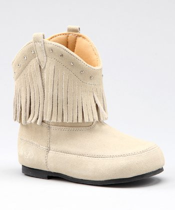 Off-White Tassel Boot - Kids