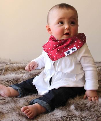 Scabib Red & White Heart Scabib