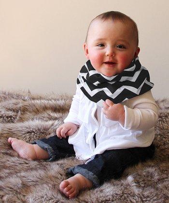 Scabib Black & White Zigzag Scabib