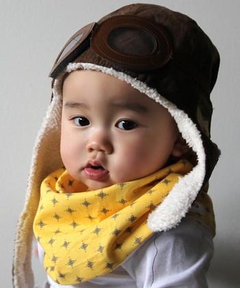 Scabib Brown Aviator Hat