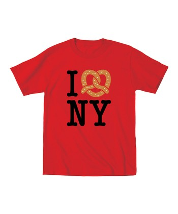 KidTeeZ Red 'I Love NY' Tee - Toddler & Kids