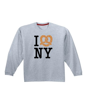 KidTeeZ Athletic Heather 'I Love NY' Tee - Infant & Toddler