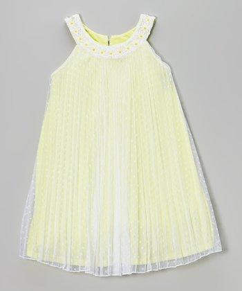 Sun Daisy Yoke Dress