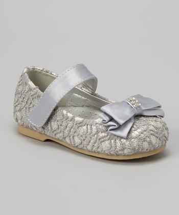 Silver Lilly Ballerina Mary Jane