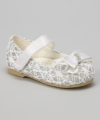 White Lilly Ballerina Mary Jane