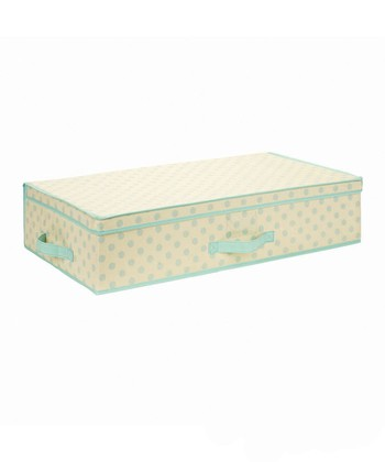 Tiffany Dots Small Under-the-Bed Storage Box