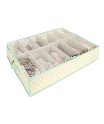 Tiffany Dots Under-the-Bed Shoe Organizer