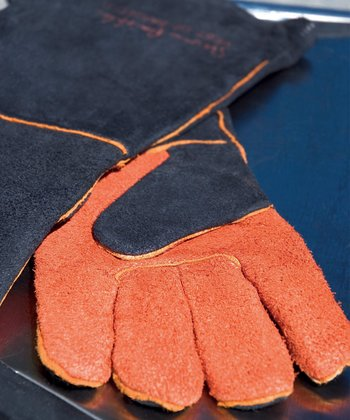 Extra-Long Suede Glove Set