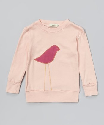 Pink Bird Organic Sweatshirt - Infant