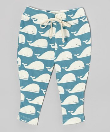 Blue Whale Organic Pants - Infant