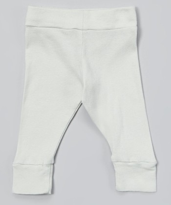 Sky Blue Organic Leggings - Infant