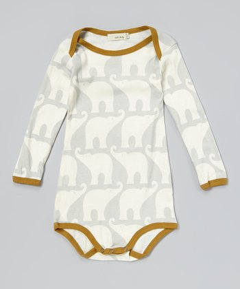 Blue Elephant Organic Bodysuit - Infant